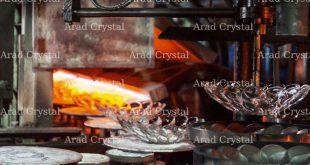 کارخانه های تولید بلور و شیشه